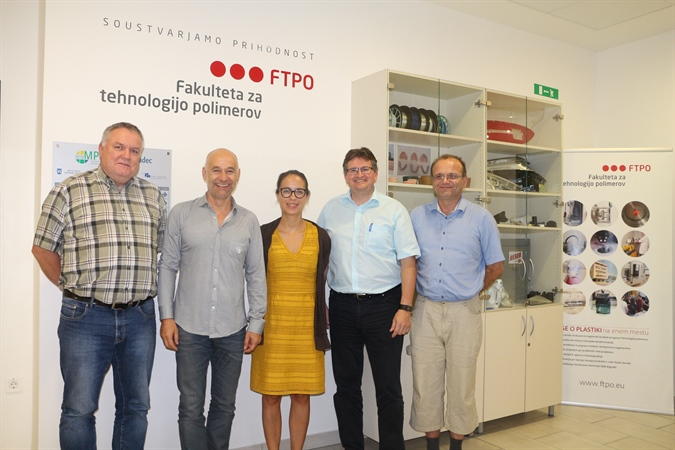 Swiss-European Mobility Program: Daniel Vetter from IWK in Rapperswil visits FTPO